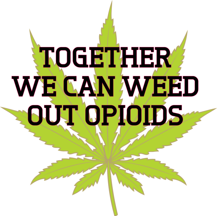 Weed out opioids